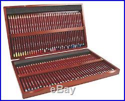 Derwent Pastel Pencils, 4mm Core, Wooden Box, 72 Count (2300343), New, Free Ship