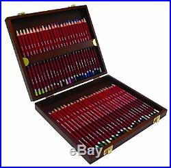Derwent Pastel Pencils Wooden Box Set of 48