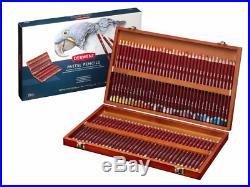 Derwent Professional Pastel Pencils 72 Wooden Box Complete Set of Colours