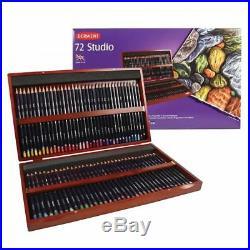 Derwent Studio Pencils 72 Colour Wooden Box