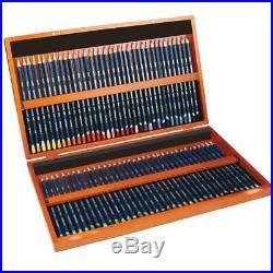 Derwent Watercolour Wooden Box Set of 72 Pencils