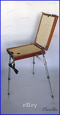 Easel Sketch Box Artists Portable Wooden. Podol'sk. Russian. Tripod. Medium size