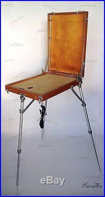 Easel Sketch Box Artists Portable Wooden. Podolsk. Russian. Big size. Tripod