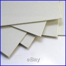 Economy Canvas Panel 16X20 Box of 50 Bulk Discount White Acid Free Artist Canvas