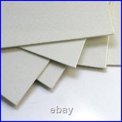 Economy Canvas Panel 24X36 Box of 50 Bulk Discount White Acid Free Artist Canvas