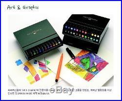 Faber-Castell PITT Artist Pen Brush Studio Box 12, 24, 48 Colours Drawing