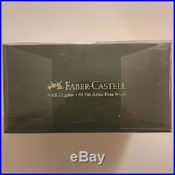 Faber-Castell PITT Artist Pen Brush Studio Box 48 Colours Professional 167148