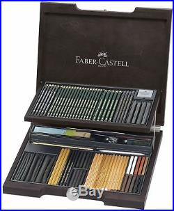 Faber-Castell PITT Monochrome Wooden Box with Accessories 112971