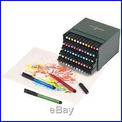Faber-Castell PITT Professional Artist Pen Brush Studio Box of 60 Colours 167150