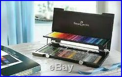 Faber Castell Pencils 110013 Polychromos 120 Piece in Wooden Box New