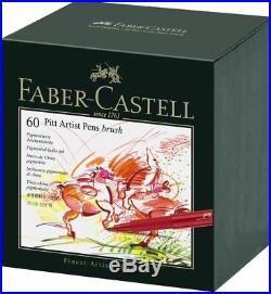 Faber-Castell Pitt Artist Brush Pens Box of 60