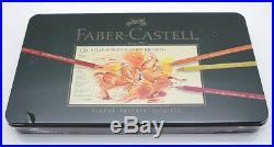 Faber Castell Polychromos 120 Buntstifte Künstlerfarbstifte in Metallbox