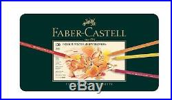Faber Castell Polychromos 120 Pencils in Metal Box NEW Sealed FREE SHIP from EU