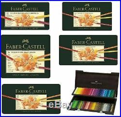 Faber Castell Polychromos Artist Quality Colour Pencils Sets 12, 24, 36, 60, 120