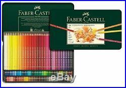 Faber-Castell Polychromos Artists' Color Pencils Tin Box of 120 Pencils