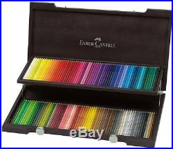 Faber Castell Polychromos Colored Pencils set of 120 Wooden Box / 120 Wood Case