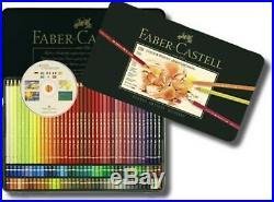 Faber Castell Professional Polychromos Artists 120 Colour Art Pencils/Metal Box