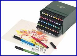 Faber-castell 167150 Pitt Fc 60-piece Artist Pen Box Set