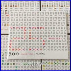 Felissimo 500 Color Pencils Colored Pencils Set Of 500 complete 1 box 25 colors