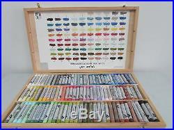Ferrario Extrafine Soft Pastels Wooden Box Set 100pcs Full Sticks Made in Italy
