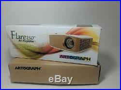 Flare150 art projector by Artograph in Open box
