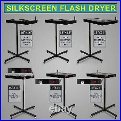 Flash Dryer Silk Screen Printing Equipment T-Shirt Curing