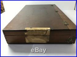 Grumbacher 180 Soft Pastels Wood Box Set No. 10