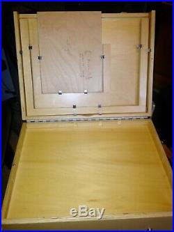 Guerrilla Painter Pochade Box 12x16 used/new condition with lots of extra's