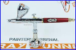 Harder and Steenbeck Infinity CR Plus 2in1 126594 airbrush 0.2+0.4mm (OPEN BOX)