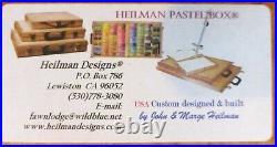 Heilman Designs Custom BackPack Pastel Box 13x10.5x2.875 with Tripod Coupler