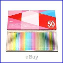 Holbain color pencil pastel tone set 50 color paper box 20936 FS