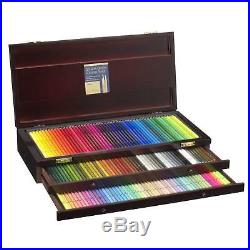 Holbein Artist OP946 Colored Pencils 150 Colors in Wooden Box from JPN Free Ship
