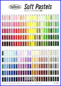 Holbein Artist Soft Pastels 150 Colors Set In Wood Box Free Shipping From japan