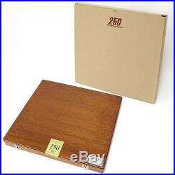 Holbein Artist Soft Pastels 250 Colors Set In Wood Box Free Shipping Japan EMS