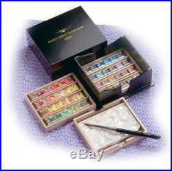Holbein Artist Water Pan Color 48 Colors PN699 Black lacquered Box