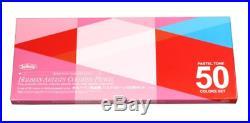 Holbein Artists Color Pencil Pastel Tone set 50 colors paper box 20936