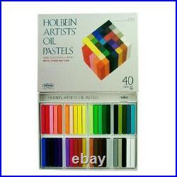 Holbein Artists Colors U686 Artists Oil Pastels 40 Color Paper Box Set
