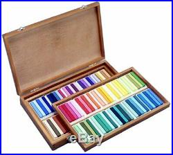 Holbein Artists Oil Pastels 100Sticks in Wood Box Set U690 Tracking Japanese F/S