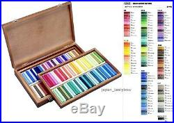 Holbein Artists Oil Pastels 100 Sticks in Wooden Box Set U690 EMS Fast Shipping