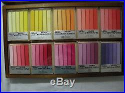 Holbein Artists' Oil Pastels 150 Stick Set in Wooden Box NEW
