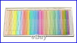 Holbein Colored pencils Pastel tones set 50 colors in Paper box 20936 from Japan