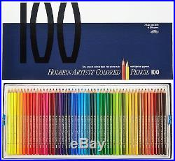 Holbein OP940 Artist Colored Pencils 100 Colors in Paper Box From Free Shipping