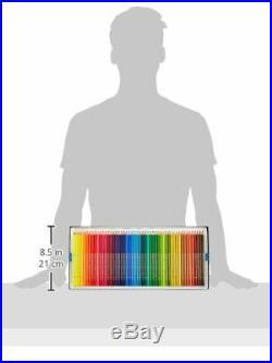 Horbin Color Pencil 100 Color Set Paper Box Art Material Soft Core New