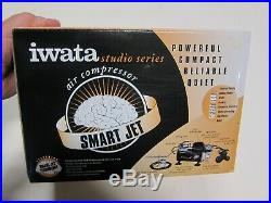 IWATA Studio Series IS-850 Smart Jet Air Compessor-NEW in Box