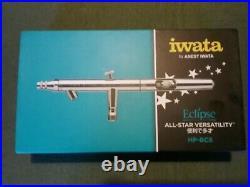 Iwata Anest Iwata Eclipse hp-bcs siphon feed airbrush open box