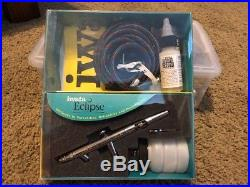 Iwata Eclipse BCS Airbrush Set with Hose ECL 2001 New In Opened Box