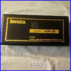 Iwata HP-B High Performance Air Brush Airbrush withBox Needle