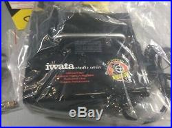 Iwata-Medea IS-35 Studio Series Ninja Jet Single Piston Air Compressor Open Box