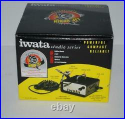Iwata Ninja Jet Air Compressor to Airbrush IS-35 New in Open Box