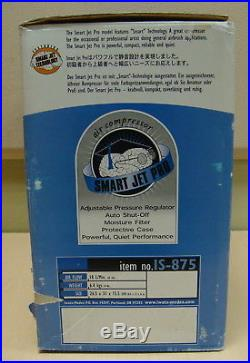 Iwata Studio Series Smart Jet Pro Airbrush compressor IS-875 New in Box +BONUS